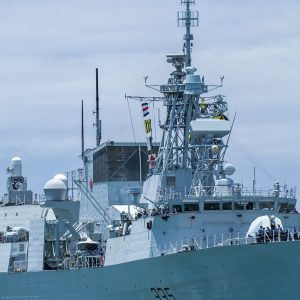 Royal Canadian Navy frigate to visit Auckland